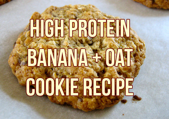 Banana Protein Cookies Recipe – 30g Protein