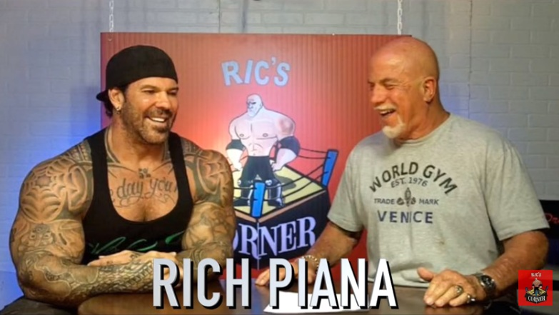 Ric Drasin Speaks on Rich Piana's Health/Coma