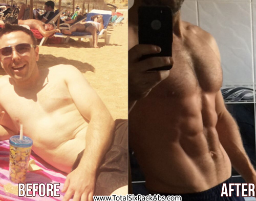 How a 31 yr old Irish Guy got a Six-Pack (see pics)