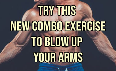 "TRY THIS ""DOUBLE SET"" FOR ARM GROWTH"