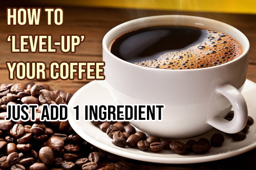 HOW TO 'LEVEL UP' YOUR COFFEE