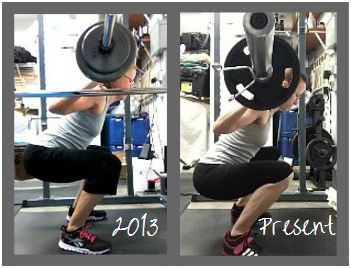 Evolution of a Squat | If you're just starting out with the squat, or you've been trying to get your squat form down without much success, check out this squat series to find out how you can go from NEVER! to BETTER!