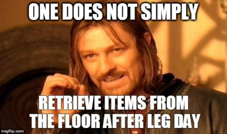 "5 Interesting Things About DOMS - Sean Bean ""One Does Not Simply..."" meme"