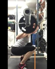 Crafting a Successful Squat: The Squat is Individual   How to squat properly   You'll learn the basics of barbell squatting and learn why your squat form looks different from that of anyone else. It's perfectly normal. Click the image to find out how body mechanics and leverages affect the outcome of YOUR successful squat.