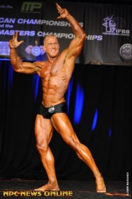 IFBB Pro Jim Holcomb - IFBB Pittsburgh Pro Masters Championships - Best Fit Classic Physique Trunks