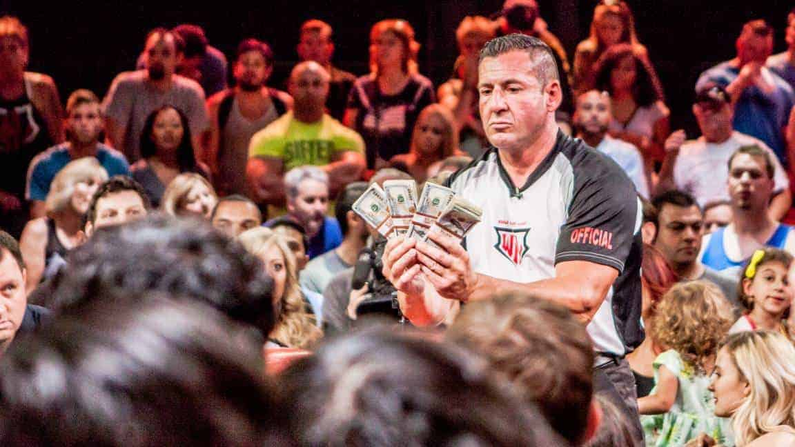 armwrestling prize money