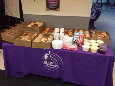 planet fitness bagels
