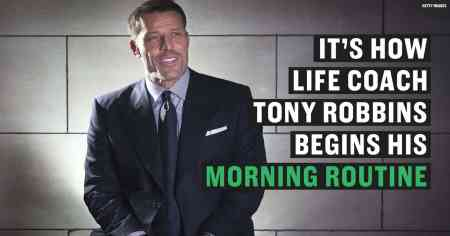 Tony Robbins Morning Routine