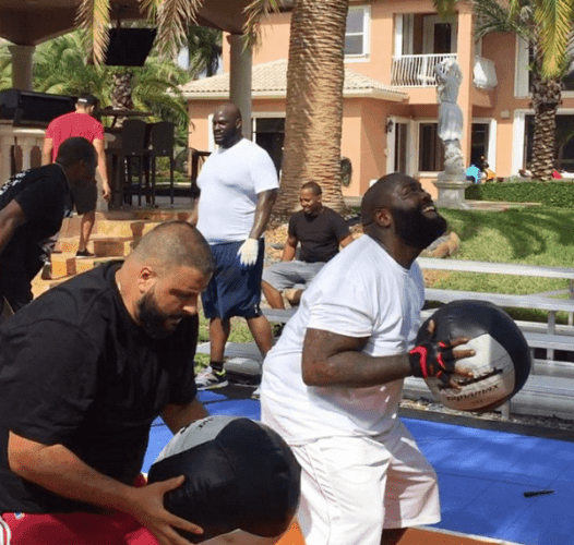 rick ross workout program