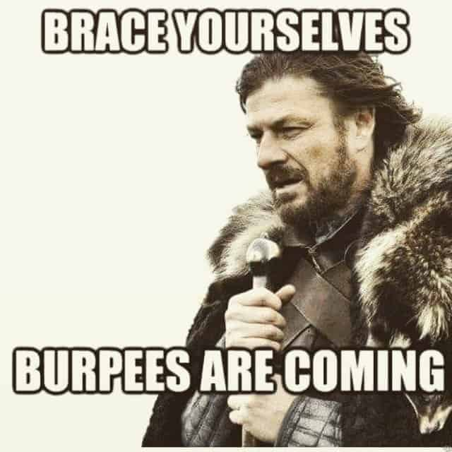 burpees workout