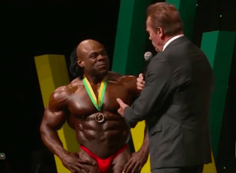 kai greene abs