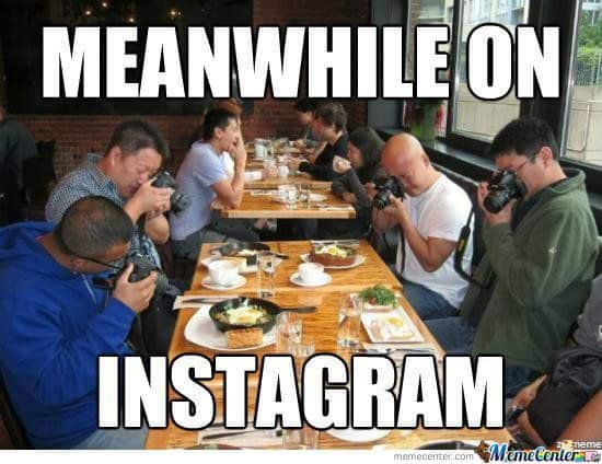 instagram lunch pictures