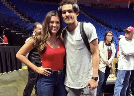 Trae young girlfriend
