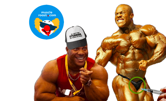 Phil Heath Finds Trainer FED Him STEROIDS! • Muscle Roast