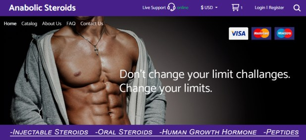 Testosterone steroids anger
