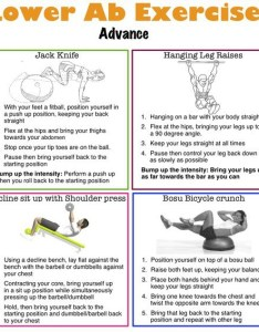 Lower ab exercise advance also workout routine for men and women rh muscletransform