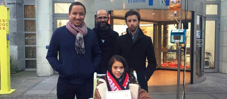 Red Flag Belgium: Visite de soutien pour Sîrîn - Manchester United