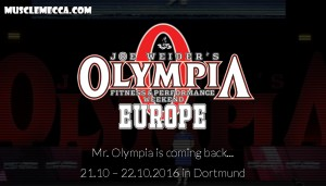 Mr. Olympia Europe