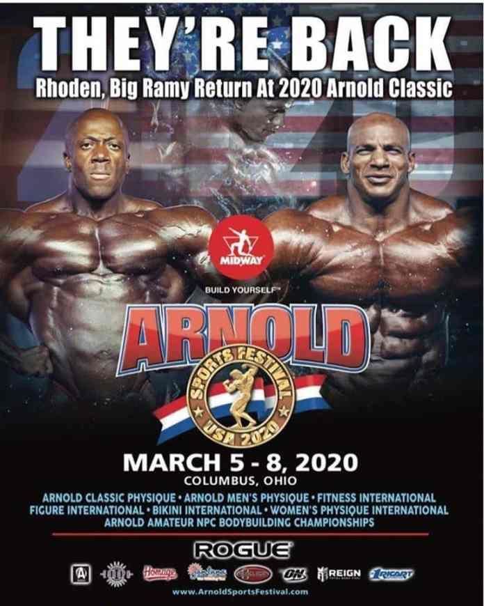 Big Ramy VS Shawn Rhoden