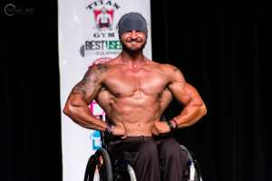 ifbb pro wheelchair bodybuilder Joshua Foster