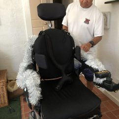 Wheelchair Zip Wire Papasan Chair Frame And Cushion Decorations Are Fitting For Any Holiday Muscular Courtesy Of Leah Leilani
