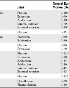 Knee rom chart musculoskeletal system key also erkalnathandedecker rh