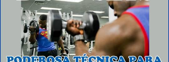 Drop Sets, potente técnica de entrenamiento para ganar masa muscular
