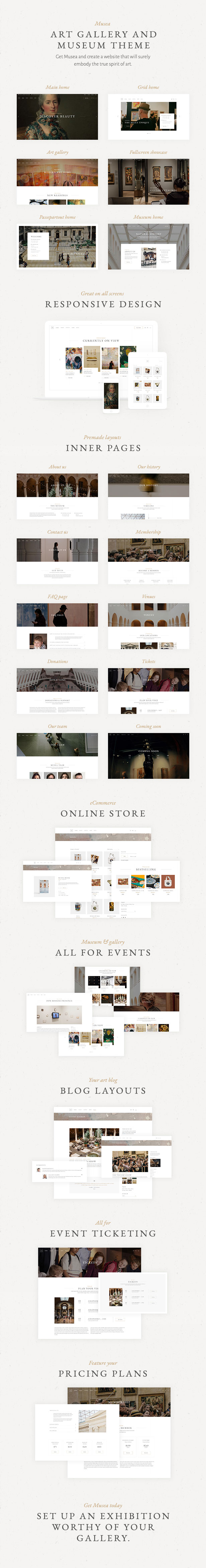 Musea - Art Gallery and Museum Theme - 1