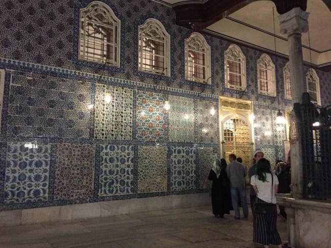 This is where Abu Ayoub Al-Ansari is buried