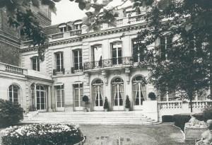 La façade de l'Union des Fabricants en 1960