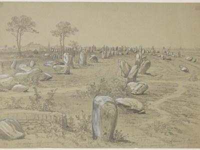 Un achat de 43 dessins de Félix Benoist