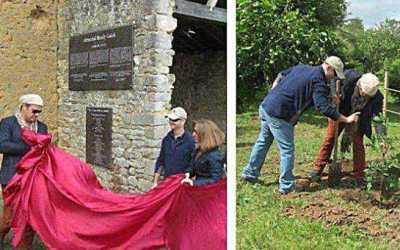 Cérémonie commémorative et dépôt de plaque