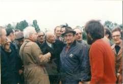 Major Von der Heydte et ses compagnons d'armes