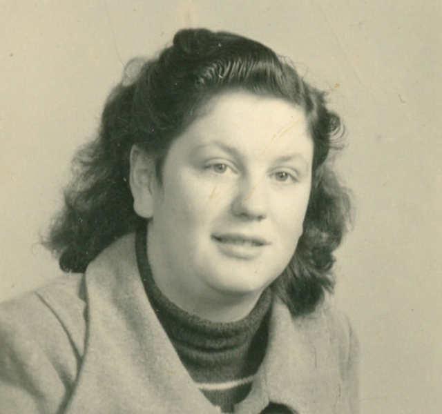 Zeugnis von Yvette Tesson, versehentlich von einer US-Granate verwundet