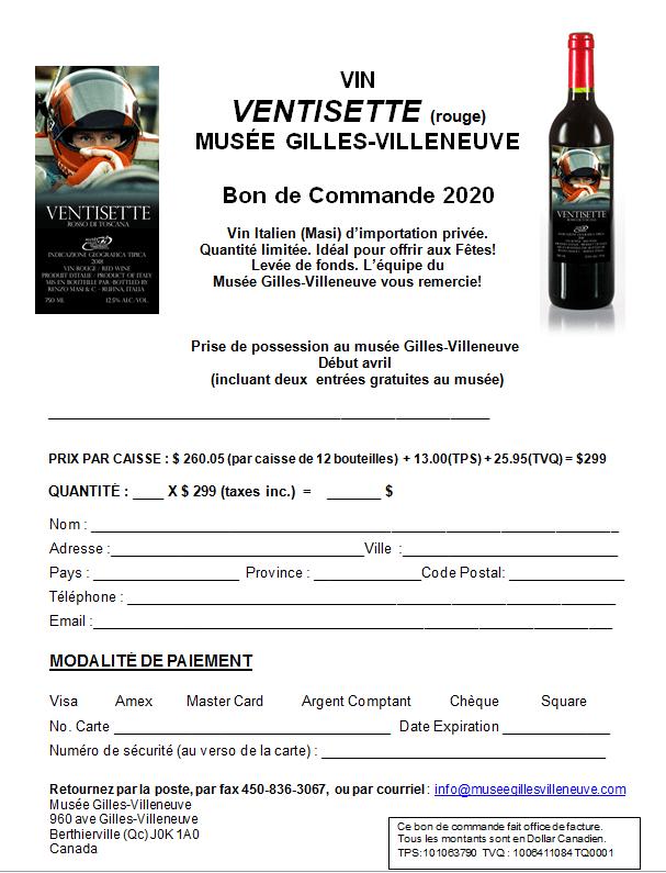 vin formulaire image