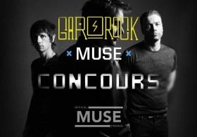 garorock visuel concours Muse France