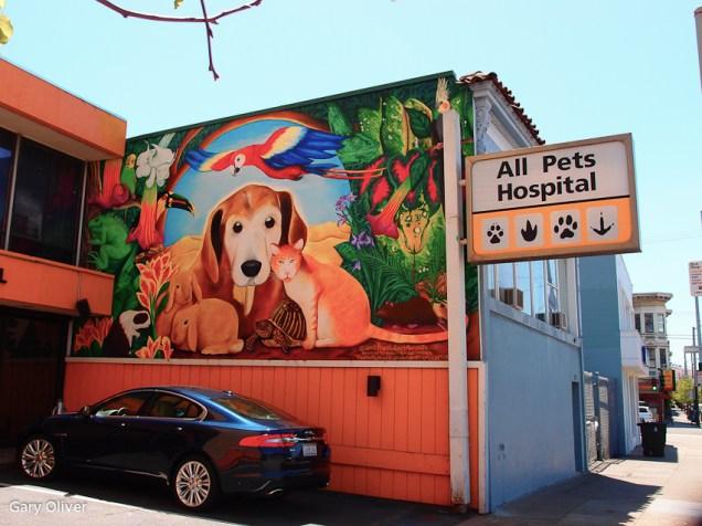 South Van Ness Avenue Murals