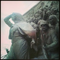 La presa di Smirne - Monumento a Kemal Ataturk