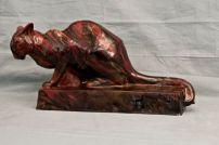 Orso 1921, maiolica a gran fuoco Roma, Collezione privata