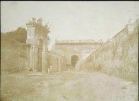S. Lecchi 1849 Porta San Pancrazio vista dall'interno