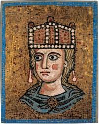 Mosaico con Ecclesia Romana