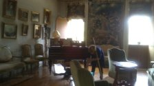 #ADayInTheLife Dusting and clearing Pietro Canonica's house-museum as if it were our house! #MuseumWeek http://ow.ly/i/508i6