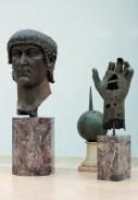 Statua colossale bronzea di Costantino, Scultura, IV secolo d.C., Bronzo