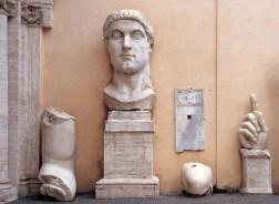 Statua colossale di Costantino, Scultura, 313-324 d.C.