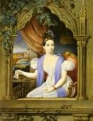 Autoritratto di Carlotta Bonaparte