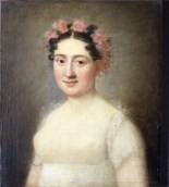 Ritratto di Zénaïde Bonaparte di Charlotte Bonaparte