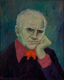 Adriana Pincherle, Ritratto di Alberto Moravia, 1978