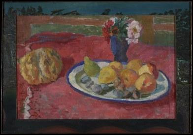 Pincherle, Natura morta con fiori e zucca, 1935-1940