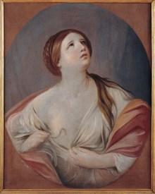 Cleopatra, Guido Reni, Olio su tela, 1640-1642, Musei Capitolini