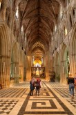 Inside Cathedral in Worcester